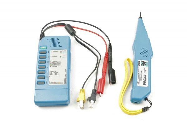 Kurth Electronic KE3100 xDSL Detection Kit (Funktionstester & Leitungssucher) 0.49800