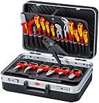 """VDE Werkzeugkoffer Elektro """"TOP"""" (Meisterkoffer) von Knipex 20-teilig, 002120"""