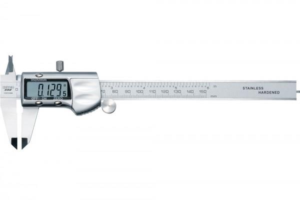 Heyco Digitale Präzisionsschieblehre 0 bis 150mm mit LCD Anzeige - 01807015080