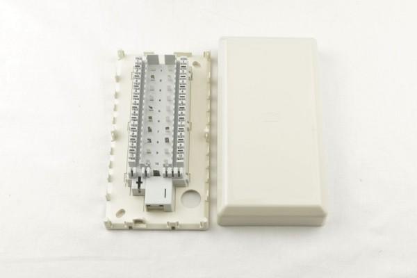 Rutenbeck Verteilerdose VVD 85 AP Verbindungsdose perlweiß für 10 DA - 245 101 02