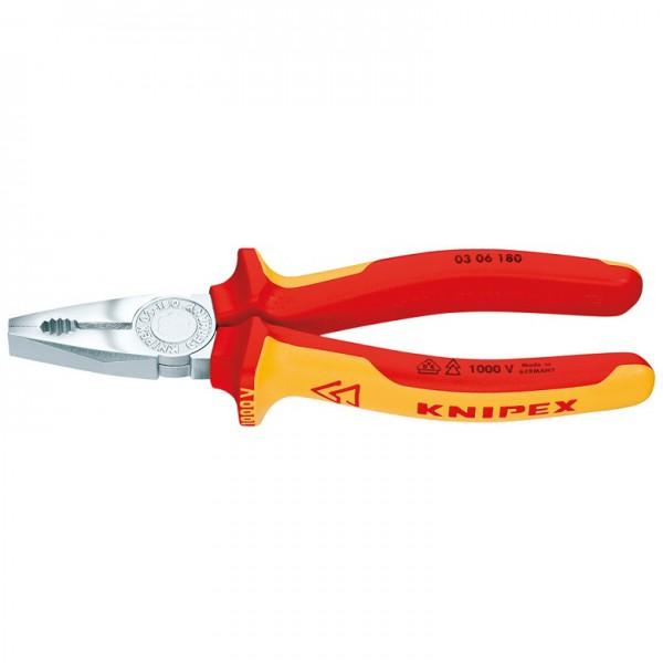 Knipex VDE Kombizange 180mm 03 06 180 offen