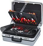 """VDE Werkzeugkoffer Elektro """"E-Check"""" von Knipex 23-teilig, 002130, 0305108, 400377351084"""