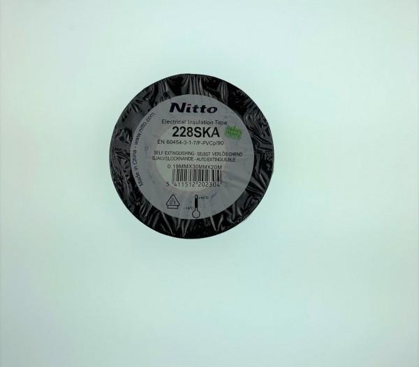 Nitto Isolierband PVC 228 30mm x 20m schwarz 228BK3020