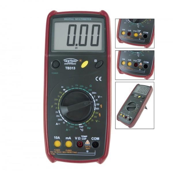 Testboy 313 Digital-Multimeter mit automatischem Messbereichsschutz