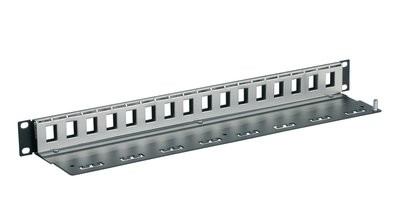 "3M™ 19"" RJ45-Patchpanel PPCA1UF24 für CAT.6/6A Anschlussmodule 1HE 24 Ports UU001622701"