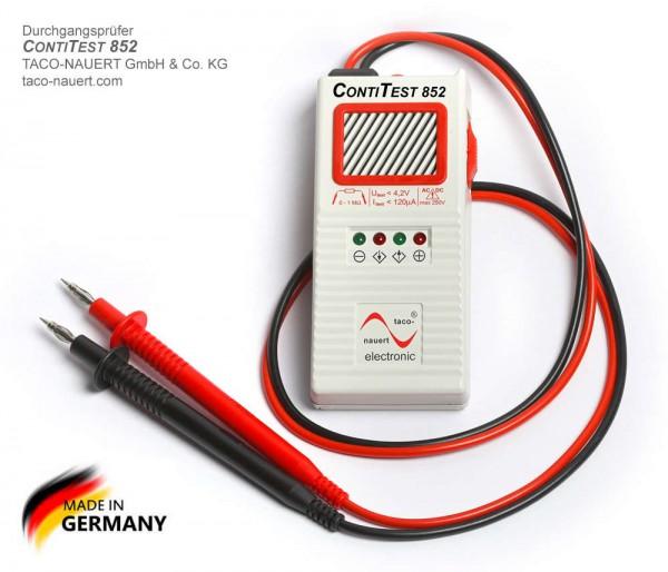 Taco-Nauert CONTITEST 852 (ehem. TESTOCOM) Durchgangsprüfer Digital DATASAFE 0150