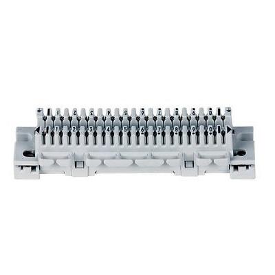 3M LSA-PLUS Anschlußleiste 1/10 grau 10 DA (Baureihe 1) 79101-517 00 - Corning 980995