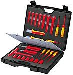 """Standardkoffer """"Security"""" 26-teilig mit isolierter Werkzeuge von Knipex, 989912, 4003773026631, 0302663"""